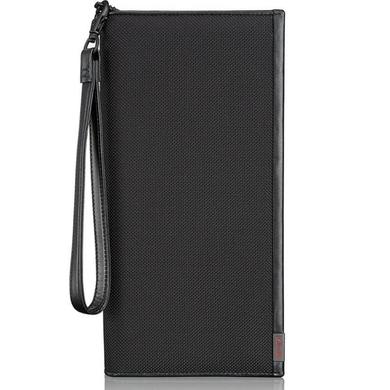 fd07b1380365 Мужское портмоне-клатч из натуральной кожи и текстиля (Ballistic Nylon)  Tumi Alpha SLG ...