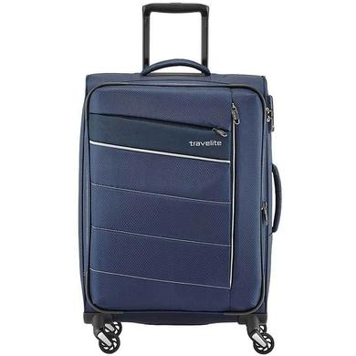 38cb92f3615f ... Чемодан Travelite Kite текстильный на 4-х колесах 089948 (средний),  0899- ...